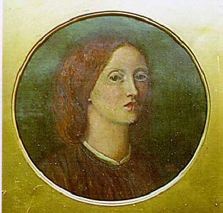 Elizabeth Eleanor Siddal - self portrait